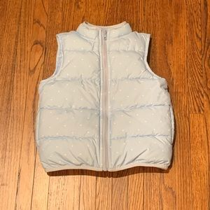 Gymboree Puffer Vest with Star Print